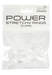Power Stretchy Rings Clear