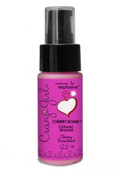 Crazy Girl Clitoral Arousal, Cherry