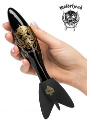 Motörhead - Bomber Glass Dildo, Black