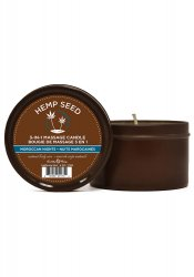 Hemp Seed Massageljus Maroccan Nights, 170 gram
