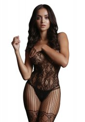 Bodystocking With Lace Pattern