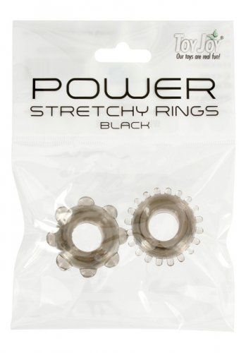 Power Stretchy Rings Black