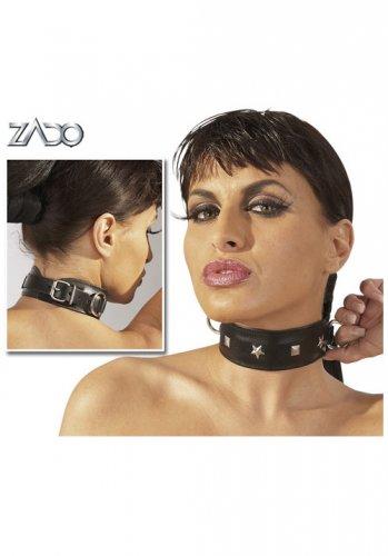 Halsband med nitar