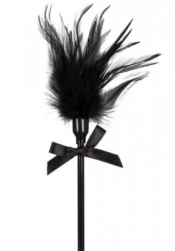 Bad Kitty Feather Stick Black
