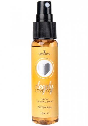 Sensuva - Throat Relaxing Spray Butter Rum