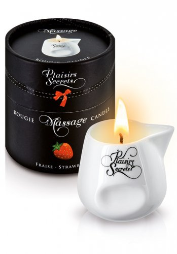 Plaisirs Secrets - Massage Candle Strawberry