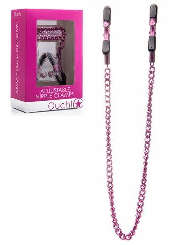 Adjustable Nipple Clamps - Pink