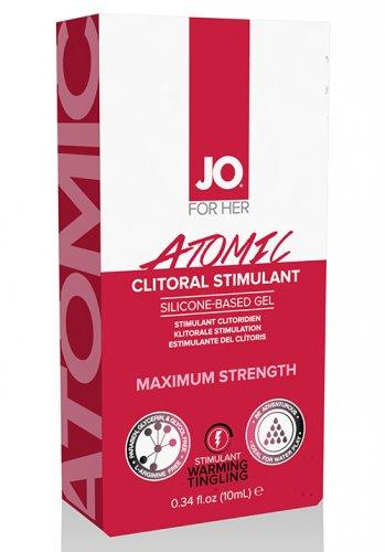 JO Clitoral Gel Warming Atomic