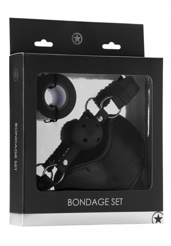 Ouch Bondage Set, Black