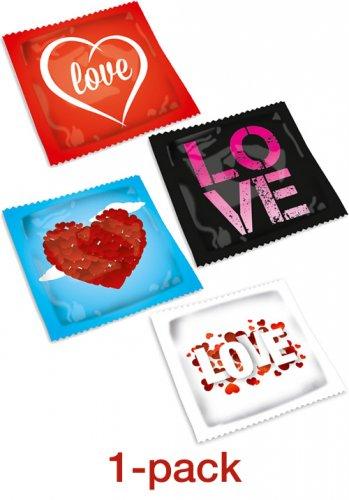 Pasante Love Kondom - 1 pack