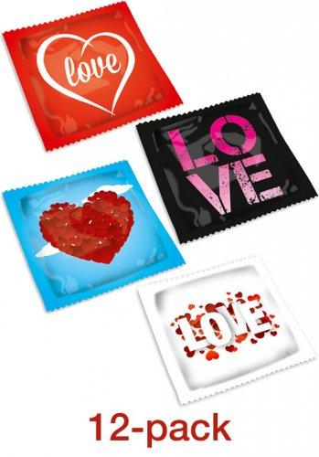 Pasante Love Kondom - 12 pack