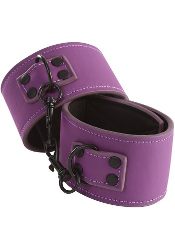Lust Bondage Ankle Cuff, Purple