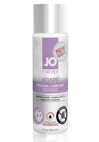 JO Agape Warming glidmedel, 60 ml