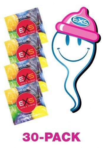 EXS Bubblegum Rap 30-pack