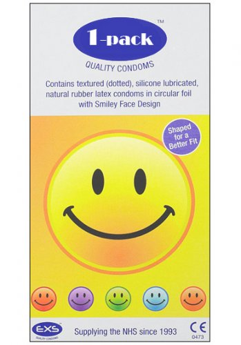 EXS Smiley Face 1-pack