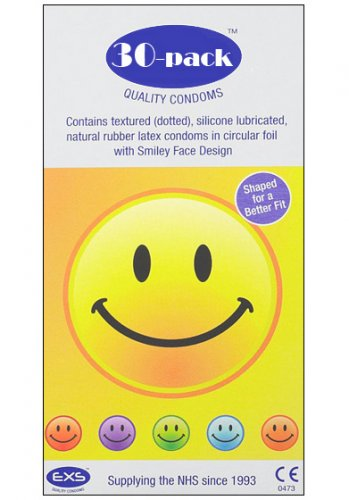 EXS Smiley Face 30-pack