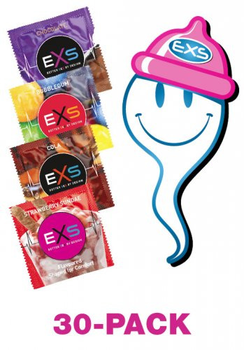 EXS Mixed Flavoured 30-pack