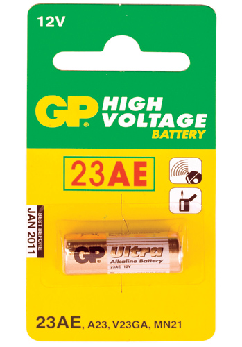 GP Ultra Alkaline 23AE - 1 pack
